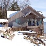 Lake Simcoe Boathouse Main Entrance