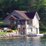 Lake Simcoe Boathouse Side