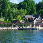 Shanty Bay Residence Boathouse and Dock