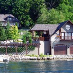 Shanty Bay Residence Boathouse and Home