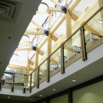 Muskoka Lakes Public Library Wooden Supports
